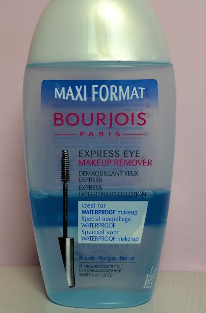 Faza z Bourjois - czyli recenzja płynu do demakijażu oczu.