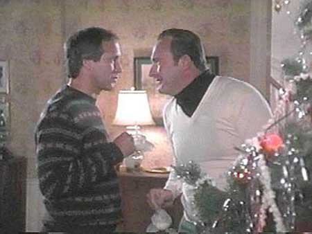 Clark and Cousin Eddy Christmas Vacation 1989 movieloversreviews.blogspot.com
