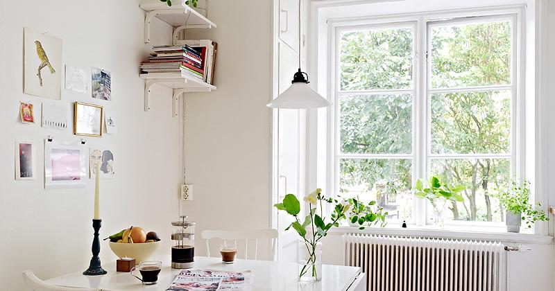 Warm deco beautiful dining corners peque os comedores for Comedores pequenos