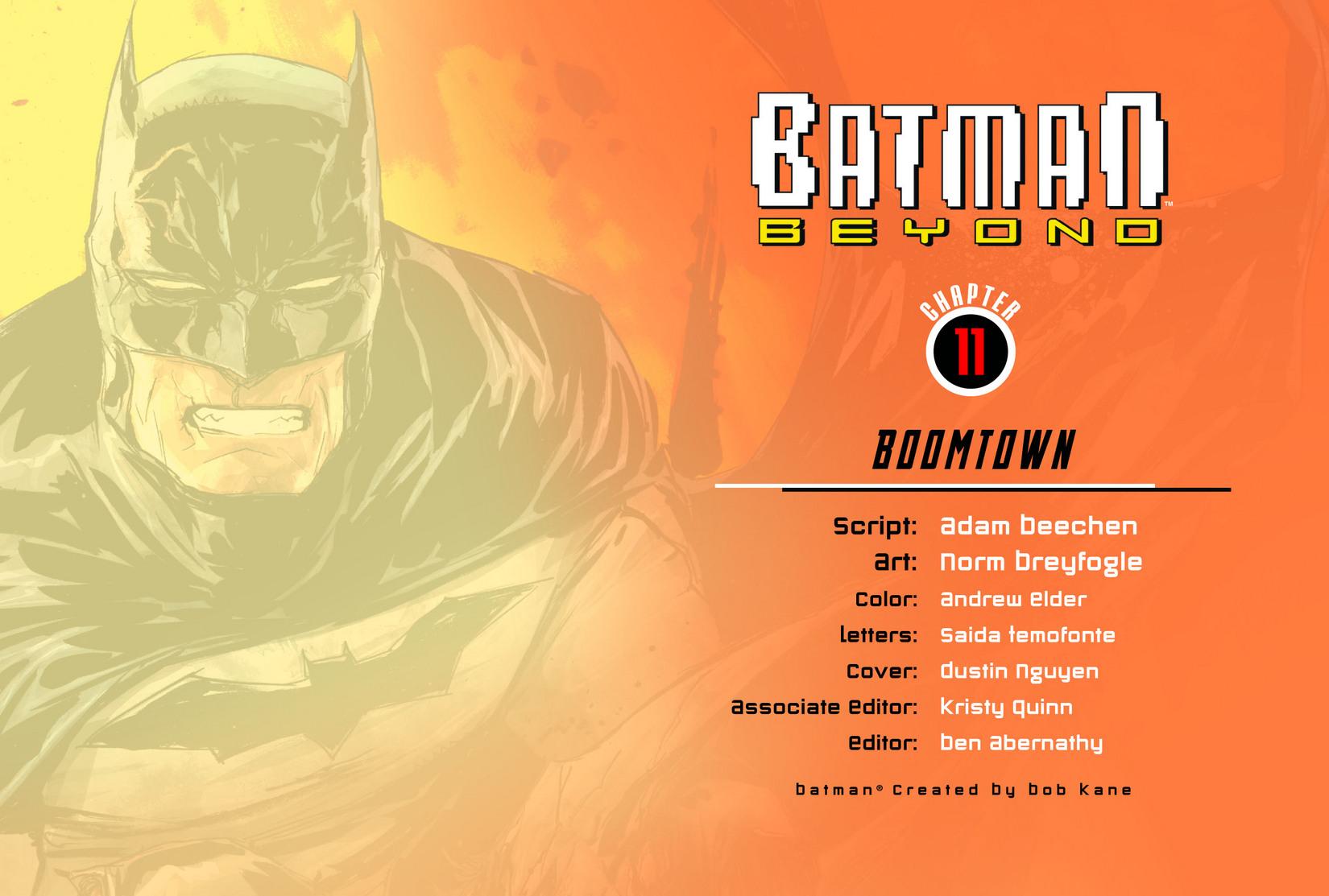 Batman Beyond (2012) Issue #11 #11 - English 2