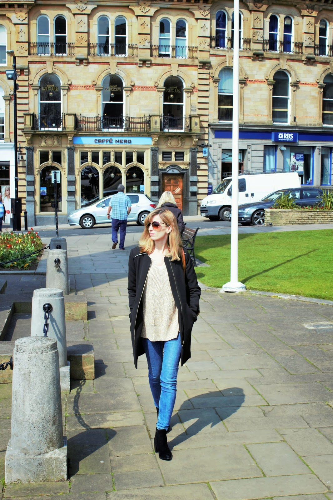OOTD featuring Zara, H&M, Topshop and River Island