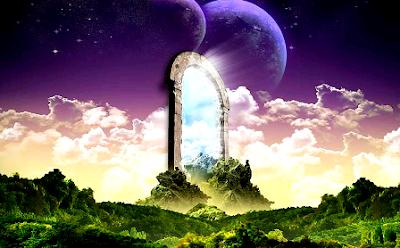 pintu gerbang menuju dimensi dunia lain