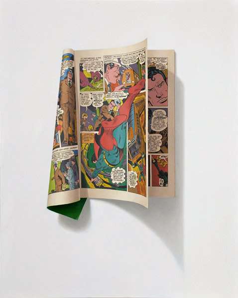 Sharon Moody Pinturas Hiper-realistas Banda Desenhada