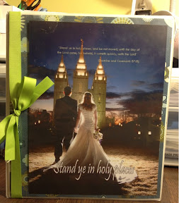 2013 YW Theme: Stand Ye In Holy Places-Binder cover, Handout, etc.