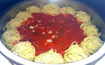 Delicious Spaghetti Napoletana