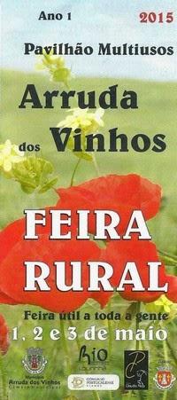 Arruda dos Vinhos- Feira Rural 2015- 1 a 3 de Maio