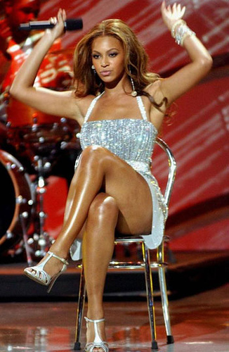 Beyonce sexy legs and thighs sorry, that