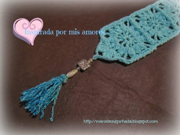 Inspirada por mis amores un motivo de crochet varias - Cuadraditos de crochet ...