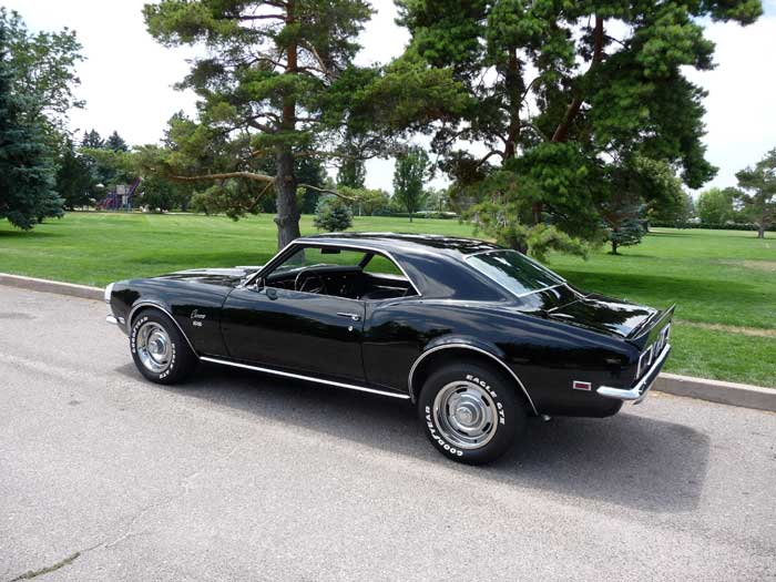 How Old Is A Classic Car 68 Camaro Ss