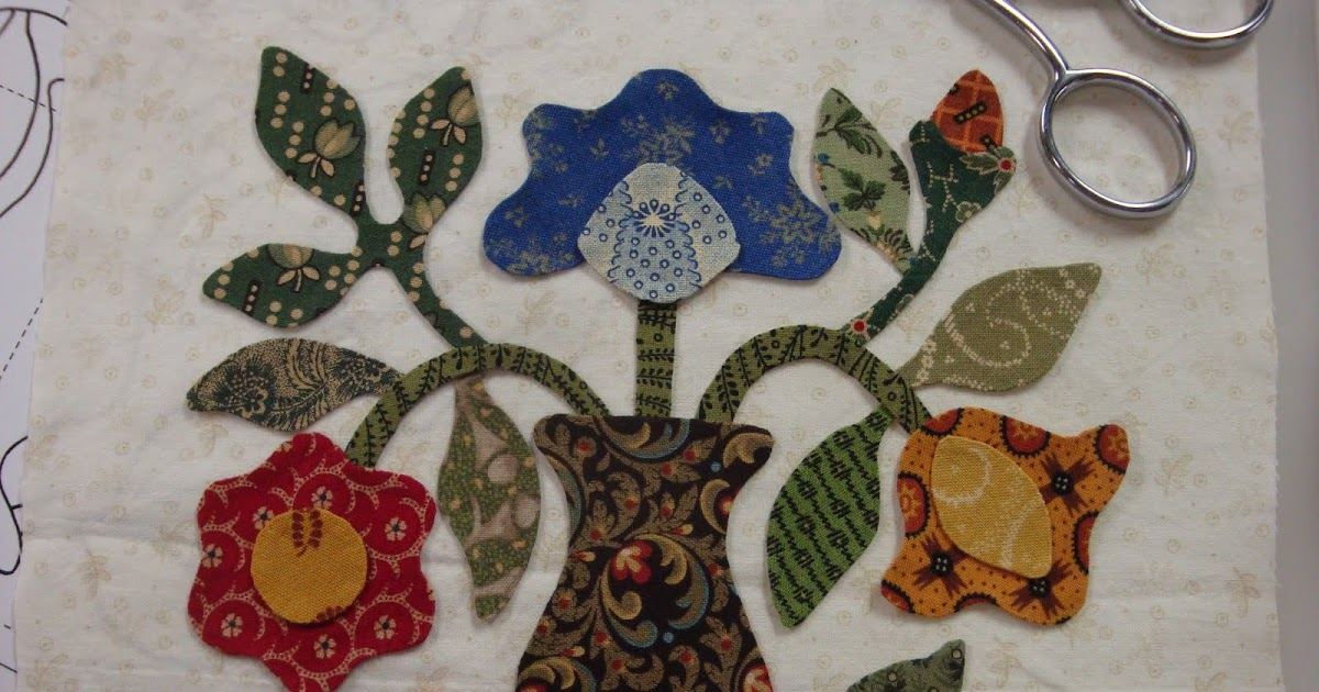 FABRIC THERAPY: Glue stick applique, the tutorial: PART ONE...