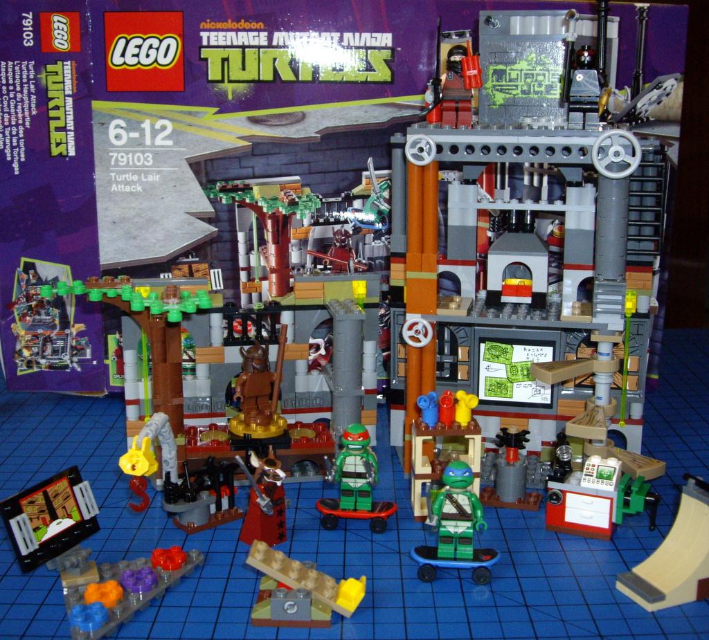 Crane Tmnt Toys : The brick castle teenage mutant ninja turtles lego