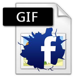 GIF animado no Facebook