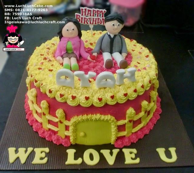 Kue Tart Ulang Tahun Pasangan