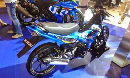 Suzuki Satria FU150 Livery MotoGP