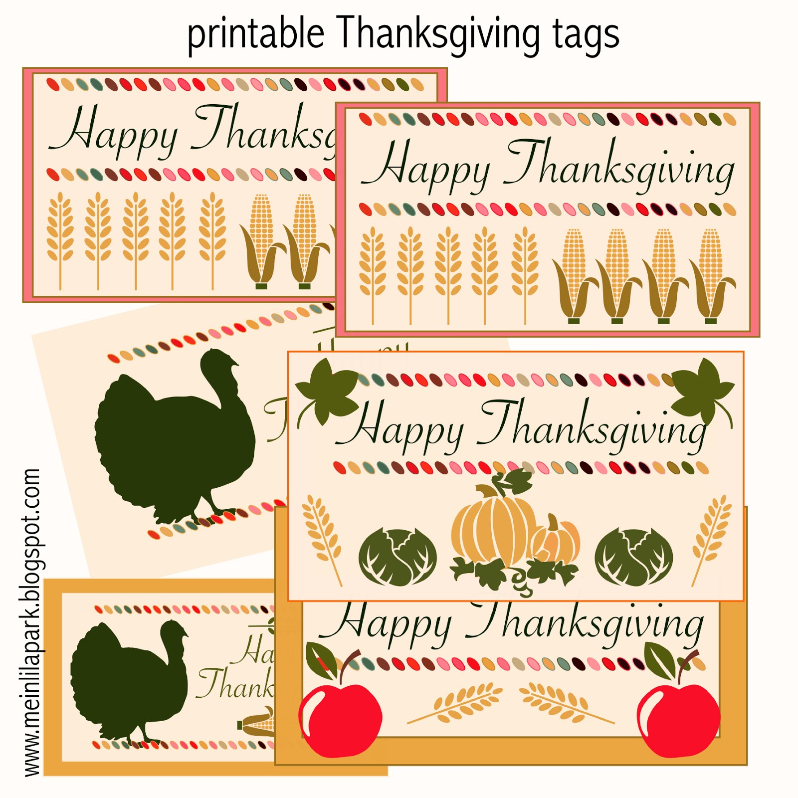 photo about Free Printable Thanksgiving Tags named Absolutely free printable Thanksgiving tags - Druckvorlage Thanksgiving