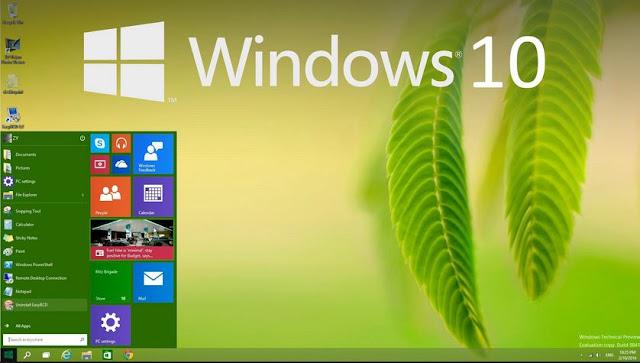 Windows 10 Resmi dirilis pada 29 Juli 2015 di 190 Negara