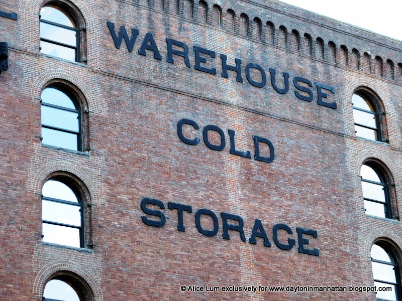 Enormous iron letters below the striking brick corbels advertise the Terminal Warehouseu0027s cold storage. Hinges survive in the recessed spaces that once ... & Daytonian in Manhattan: The Goliath 1891 Terminal Warehouse Bldgs ...