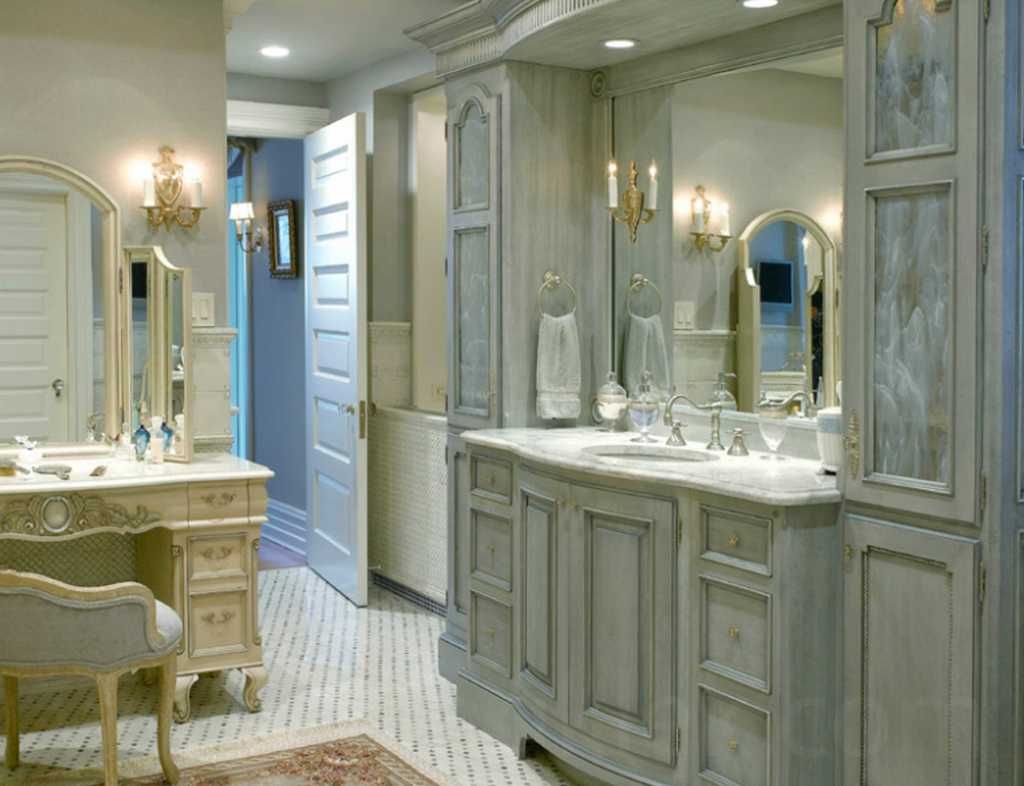 accent your bathroom with marble vanities