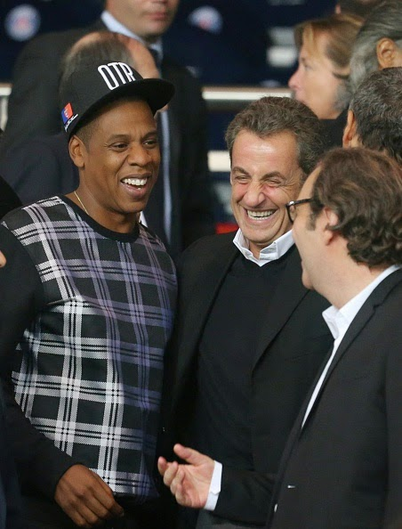 The politician added considerably touch of humor to talk Jay Z and David Beckham