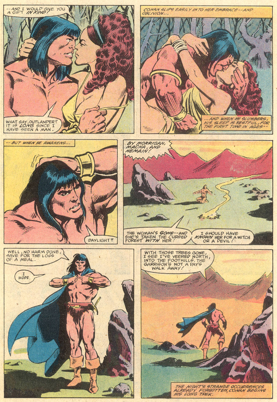 Conan the Barbarian (1970) Issue #135 #147 - English 5