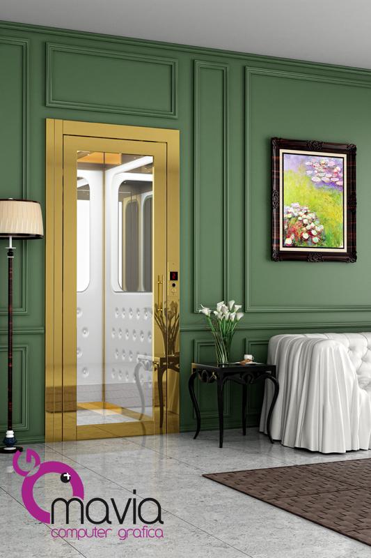 Arredamento di interni rendering 3d esempi di rendering for Esempi di arredamento interni