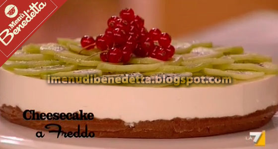 Cheesecake a Freddo di Benedetta Parodi