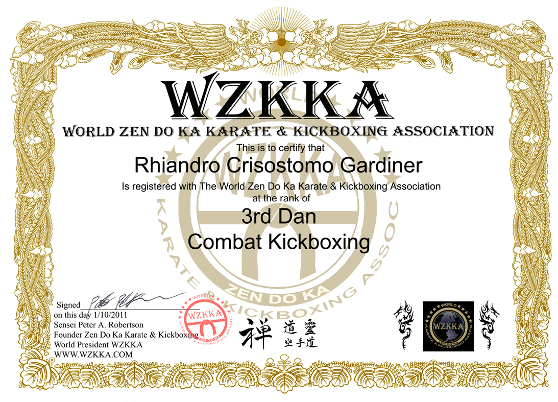 Zen Do Ka Freestyle Karate Kickboxing Mixed Martial Arts Singapore