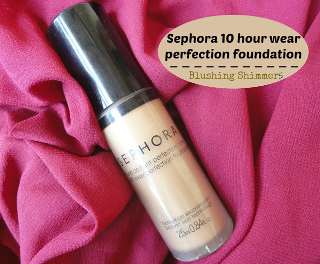 Sephora 10 hour Wear Perfecting Foundation