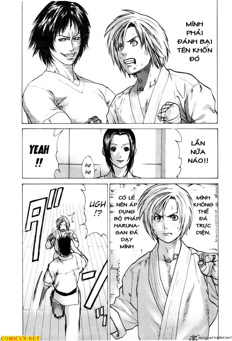 Karate Shoukoushi Kohinata Minoru chap 20 Trang 11