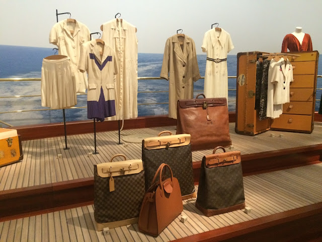 Louis Vuitton trunk and Steamer Bags, Grand Palais, Paris