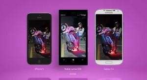 камера lumia 928 против iphone 5 и galaxy S4