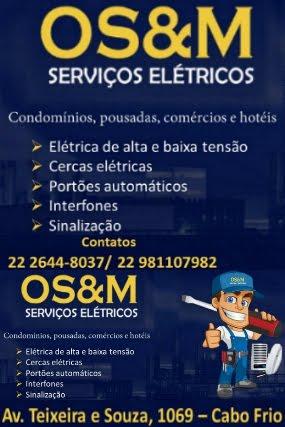 OS&M Serviços Elétricos em Cabo Frio