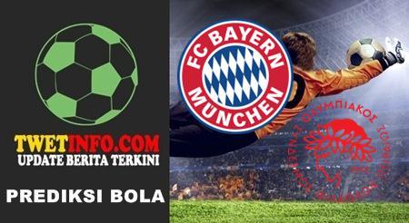 Prediksi Bayern Munchen U19 vs Olympiakos U19