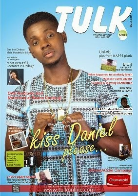 Kiss Daniel Covers The March Edition Of Tulk Magazine