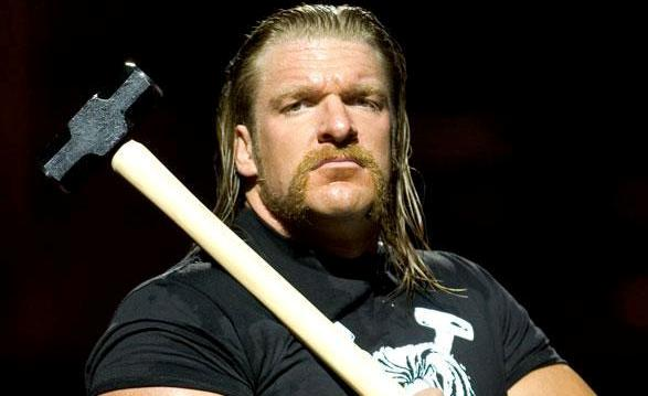 Triple H with Hammer