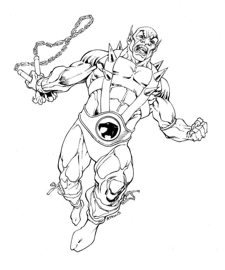 LAMINAS PARA COLOREAR - COLORING PAGES: Thundercats para dibujar ...
