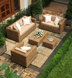 M arizona natural set Rattan garden furniture
