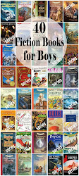 40 Fiction Books for Boys