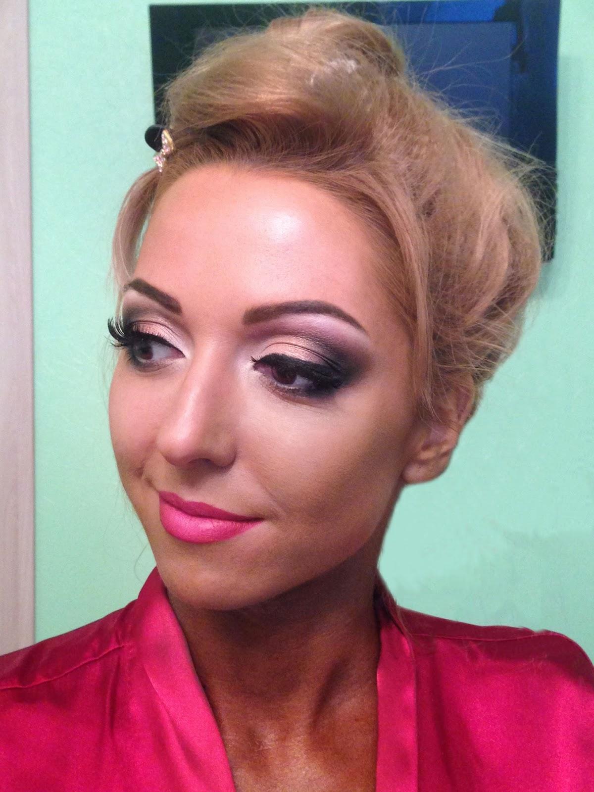 С макияжем в моем исполнении