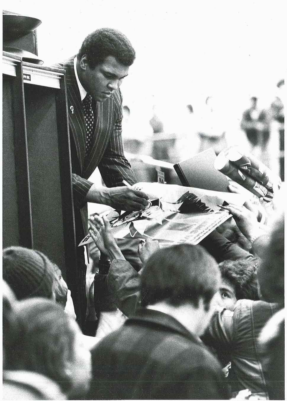 1979 : Muhammad Ali Visits Central Michigan University