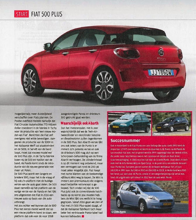 fiat in de media voor intern fca group gebruik autoweek. Black Bedroom Furniture Sets. Home Design Ideas