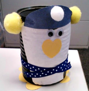 Penguin soup can craft