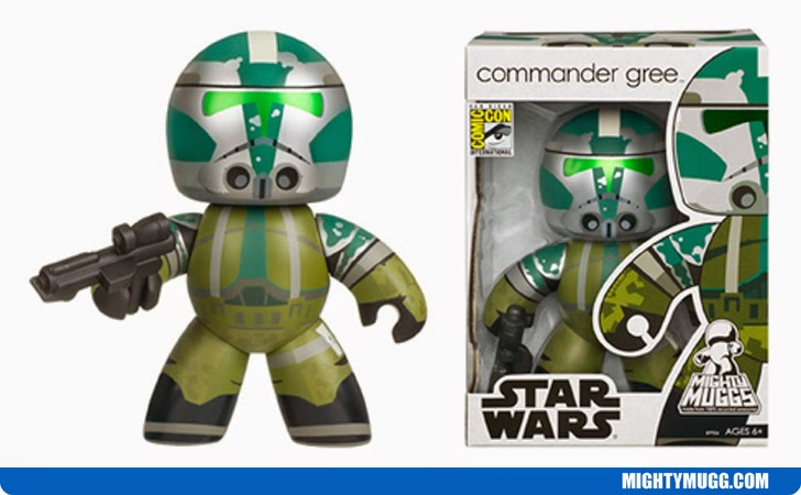 Commander Gree Star Wars Mighty Muggs Exclusives