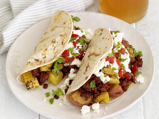 My Favorite Things: Chorizo-Potato Tacos