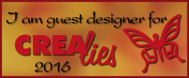 Guest Designer Crealies