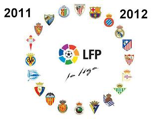 Calendario de Liga Española 2012 - 2012