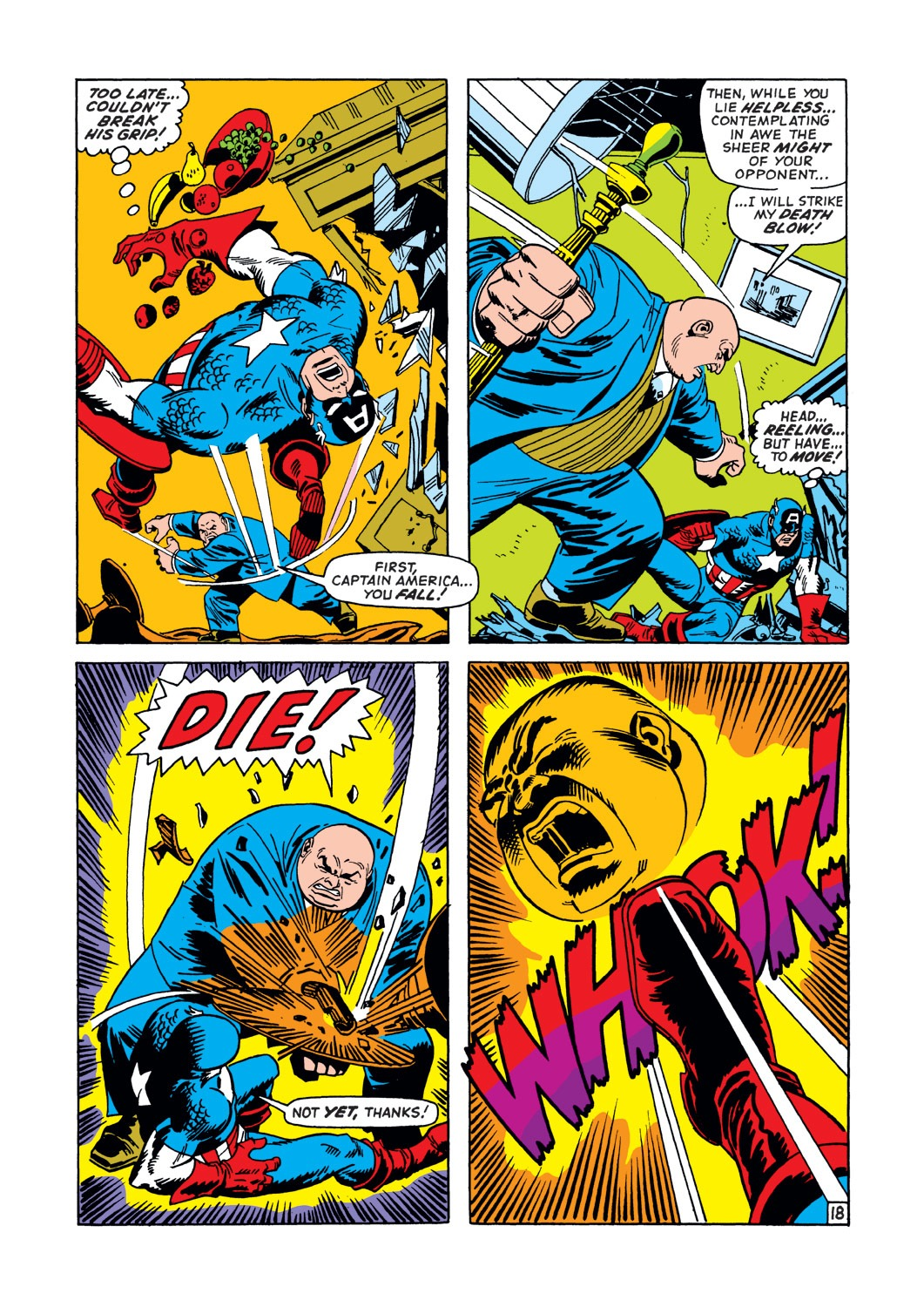 Captain America (1968) Issue #147 #61 - English 19