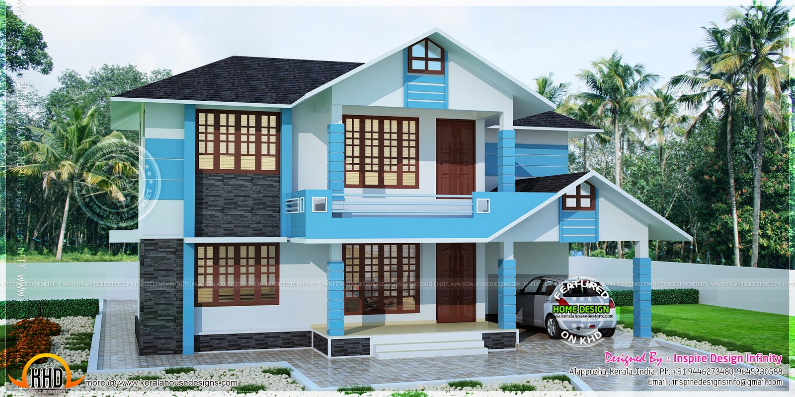 Simple house in 200 square yards kerala home design and 200 yards house design