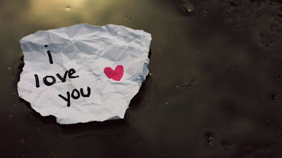 Une lettre d'amour i love you