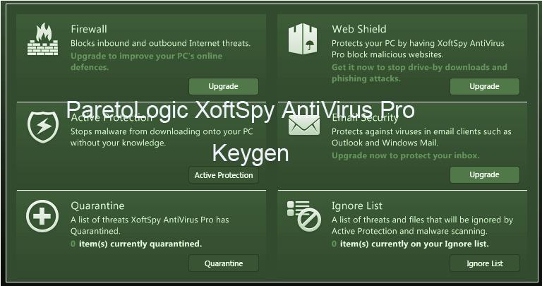 ParetoLogic XoftSpy Antivirus 2015 Keygen Portable License Serial Download